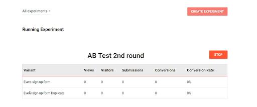 AB Test 2nd round