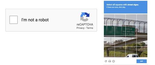 Use Google ReCAPTCHA